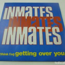 Disques de vinyle: THE INMATES – (THINK I'M) GETTING OVER YOU - SINGLE. Lote 237662065