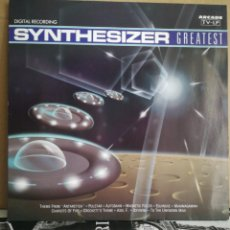 Disques de vinyle: SYNTHESIZER GREATEST VOL 1 Y 2. Lote 237674015