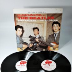 Disques de vinyle: THE BEATLES – RE-INTRODUCING THE BEATLES / COLLECTORS-EDITION FROM THE BEGINNING OF THE BEATLES. Lote 237679285