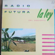 Dischi in vinile: RADIO FUTURA - LA LEY DEL DESIERTO, LA LEY DEL MAR. Lote 237684135
