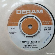 Disques de vinyle: THE HONEYBUS* – I CAN'T LET MAGGIE GO SINGLE UK 1968 VG TEMAZOOOOOO!!!. Lote 237711580