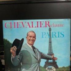 Discos de vinilo: DISCO VINILO CHEVALIER CHANTE ORCHESTRE CARAVELLI. Lote 237713865