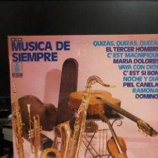 Discos de vinilo: DISCO VINILO MÚSICA DE SIEMPRE. Lote 237715330
