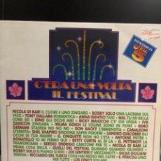 Discos de vinilo: DISCO VINILO C'ERA UNA VOLTA IL FESTIVAL. Lote 237720740