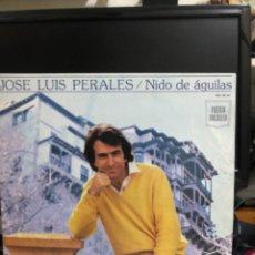 Disques de vinyle: DISCO VINILO JOSE LUIS PERALES NIDO DE ÁGUILAS. Lote 237736020