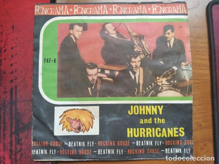 FONORAMA 45 RPM. JOHNY AND THE HURRICANES, ROCKING GOOSE. (Música - Discos de Vinilo - Maxi Singles - Rock & Roll)