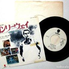 Discos de vinilo: CASEY RANKIN - LONELY WAY (EL CORREDOR VALIENTE) - SINGLE EASTWORLD 1984 JAPAN PROMO BPY. Lote 237754130