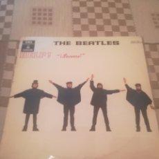 Discos de vinilo: THE BEATLES.HELP! ODEON MOCL 136 1J060-04257 M.REEDICIÓN ESPAÑOLA 1969.. Lote 237767690