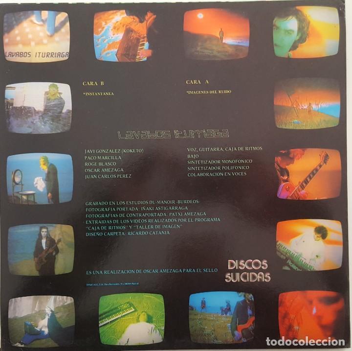 Discos de vinilo: Lavabos Iturriaga...Imágenes Del Ruido.(Discos Suicidas  1984) Spain. - Foto 2 - 237772400