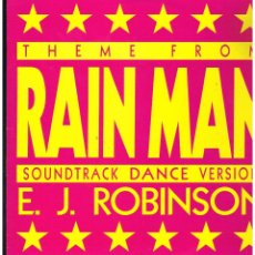 Discos de vinilo: E.J. ROBINSON - THEME FROM RAINMAN (SOUNDTRACK DANCE VERSION) - MAXI SINGLE 1989 - ED. ALEMANIA. Lote 237810345