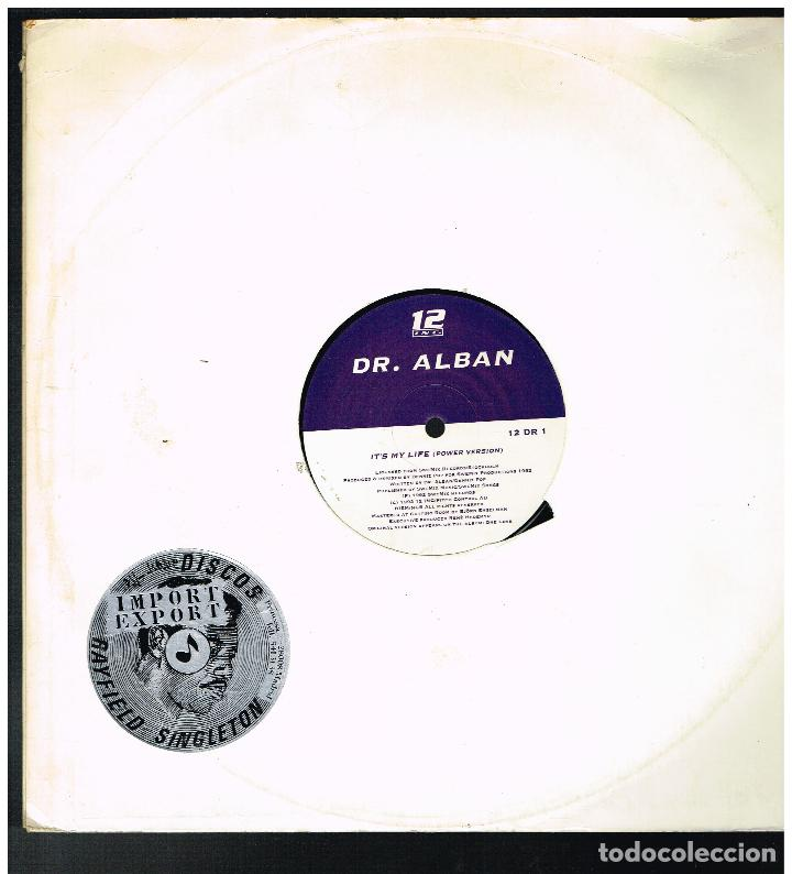DR. ALBAN - IT'S MY LIFE - MAXI SINGLE 1992 - ED. SUECIA (Música - Discos de Vinilo - Maxi Singles - Bandas Sonoras y Actores)