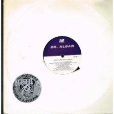 Discos de vinilo: DR. ALBAN - IT'S MY LIFE - MAXI SINGLE 1992 - ED. SUECIA. Lote 237812945