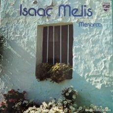 Discos de vinilo: ISAAC MELIS - MENORCA (LP) (1978/ES). Lote 237820550