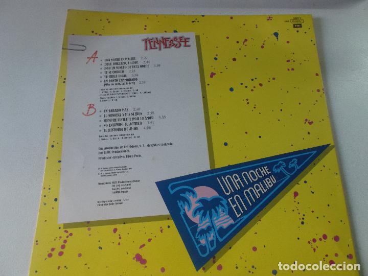 Discos de vinilo: tennessee, una noche en malibu, 1989 - Foto 2 - 237827500