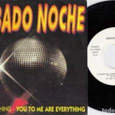 Discos de vinil: SUGARHILL GANG - RAPPER'S DELIGHT / THE REAL YHING - YOU TO ME - SINGLE DE VINILO EDICION ESPAÑOLA. Lote 237831335