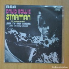 Dischi in vinile: DAVID BOWIE - STARMAN / JOHN ; I´M ONLY DANCING - SINGLE. Lote 237832910