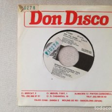 Discos de vinilo: SPYDER-D FEATURING D.D. DOC - I CAN'T WAIT TO ROCK THE MIKE (DON DISCO) SINGLE ESPAÑA PROMOCIONAL. Lote 237837665