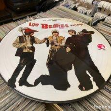 Discos de vinilo: LOS BEATLES PRIMERO PICTURE LP DISCO DE VINILO RARO TITULOS EN ESPAÑOL. Lote 237841250