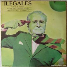 Discos de vinilo: ILEGALES.EUROPA HA MUERTO/TIEMPOS NUEVOS,TIEMPOS SALVAJES + 3 TEMAS...MAXI...VINILO EX. Lote 237863085