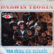 Discos de vinilo: DARWIN TEORÍA UNA CHICA SIN CORAZÓN (1969). Lote 237880570