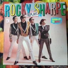 Disques de vinyle: LIQUIDACION DE DISCOS DE VINILO EN BUEN ESTADO --- LP_ROCKY SHARPE_REPLAYS (1979-80). Lote 237884320