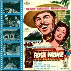 Discos de vinilo: VVAA / MGM ORCHESTRA STUDIO - ROSE MARIE - EP SPAIN 1960 - HISPAVOX HT 057-18. Lote 237891800