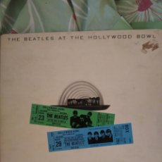 Discos de vinilo: BEATLES. AT THE HOLLYWOOD BOWL. DOBLE CARPETA.. Lote 237894035