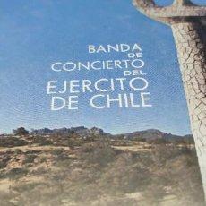 Discos de vinilo: BANDA DE CONCIERTO DEL EJÉRCITO DE CHILE & CORO ESCUELA SUBOFICIALES DEL EJÉRCITO* – LIBRE. Lote 237897735