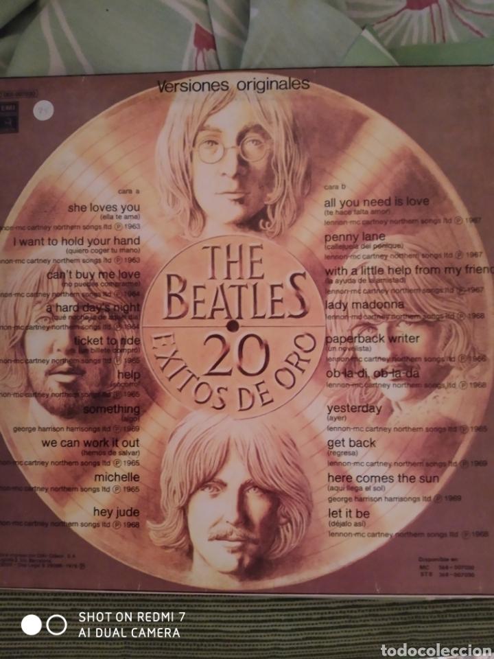 Discos de vinilo: Beatles. 20 Éxitos de oro. - Foto 2 - 237897860