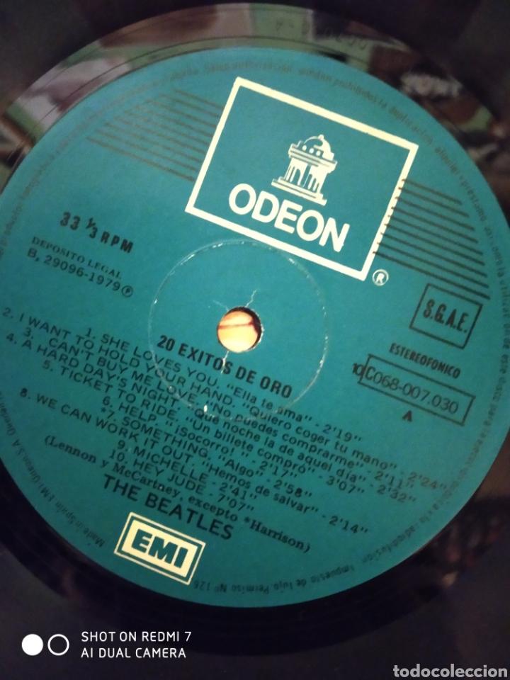 Discos de vinilo: Beatles. 20 Éxitos de oro. - Foto 3 - 237897860