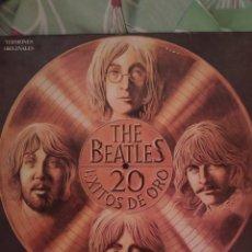 Discos de vinilo: BEATLES. 20 ÉXITOS DE ORO.. Lote 237897860