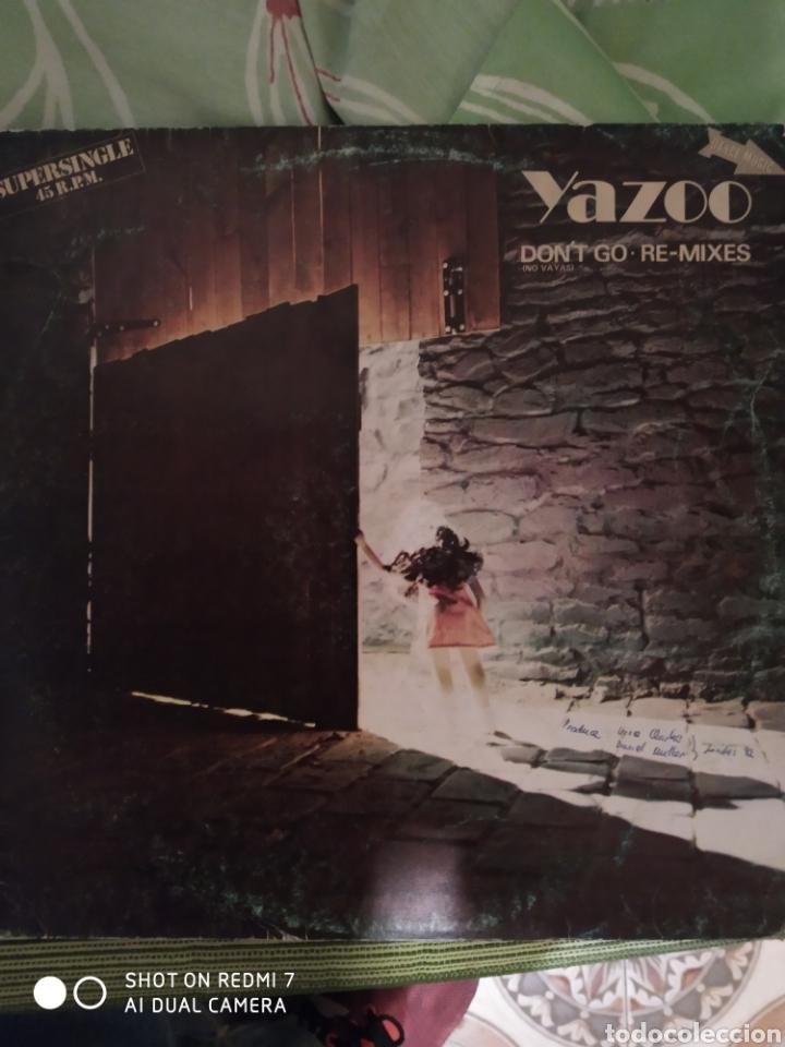 YAZOO. DON'T GO. MAXI SINGLE. (Música - Discos de Vinilo - Maxi Singles - Disco y Dance)