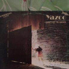 Discos de vinilo: YAZOO. DON'T GO. MAXI SINGLE.. Lote 237900605