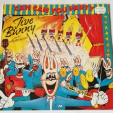 Discos de vinilo: JIVE BUNNY AND THE MASTERMIXERS - CAN CAN YOU PARTY - 1990. Lote 237918880