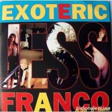 Discos de vinilo: EXOTERIC JESS FRANCO AND HIS B BAND VINILO VERDE NUEVO. Lote 237921595
