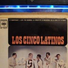 Discos de vinilo: LOS CINCO LATINOS, ET MAINTENANT, I LOVE YOU BAMBINA, EN LA CRUZ DE TU MANO + 1. Lote 237921830
