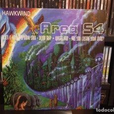 Discos de vinilo: HAWKWIND - AREA S4. Lote 237927845