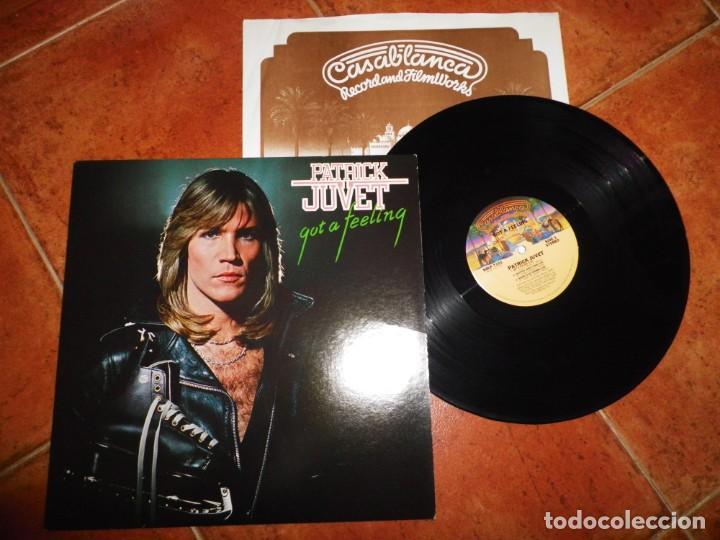 PATRICK JUVET GOT A FEELING LP VINILO 1978 USA CON ENCARTE CONTIENE 4 TEMAS JEAN MICHEL JARRE (Música - Discos de Vinilo - Maxi Singles - Canción Francesa e Italiana)