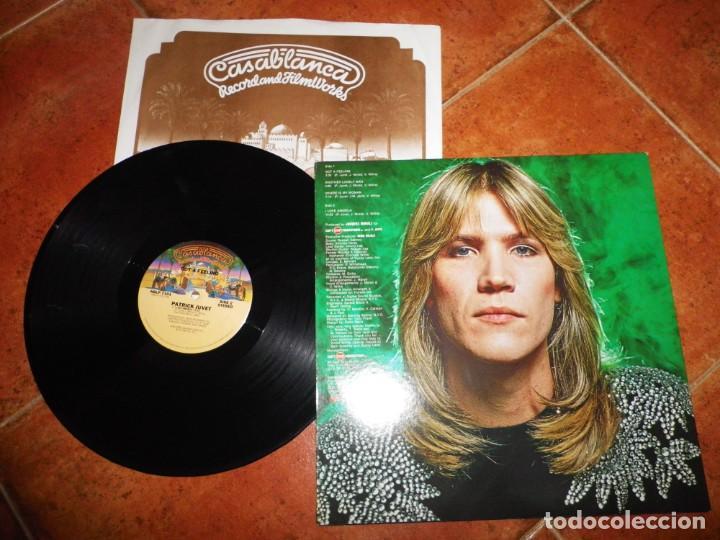 Discos de vinilo: PATRICK JUVET Got a feeling LP VINILO 1978 USA CON ENCARTE CONTIENE 4 TEMAS JEAN MICHEL JARRE - Foto 2 - 237931960