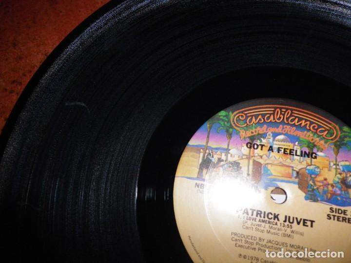 Discos de vinilo: PATRICK JUVET Got a feeling LP VINILO 1978 USA CON ENCARTE CONTIENE 4 TEMAS JEAN MICHEL JARRE - Foto 3 - 237931960