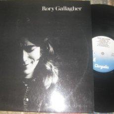 Discos de vinilo: RORY GALLAGHER ?– RORY GALLAGHER SELLO: CHRYSALIS ?– CHR 1258 EDITADO ESPAÑA ALBUM, REISSUE PRIMER. Lote 237934465
