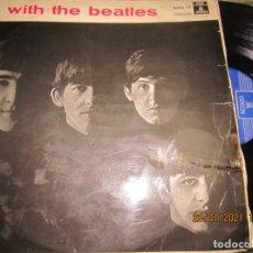 Discos de vinilo: THE BEATLES - WITH THE BEATLES - EDICION ESPAÑOLA EMI/ODEON 1964 AZUL OSCURO - MONOAURAL. Lote 237935605