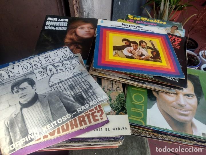 LOTE 72 DISCOS ARTISTAS ESPAÑOLES ( LOS PAYOS, RAPHAEL, MOCEDADES, MANZANITA, AUTE, LOS TNT, ETC (Música - Discos - Singles Vinilo - Solistas Españoles de los 50 y 60)