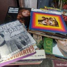 Discos de vinilo: LOTE 72 DISCOS ARTISTAS ESPAÑOLES ( LOS PAYOS, RAPHAEL, MOCEDADES, MANZANITA, AUTE, LOS TNT, ETC. Lote 237936385