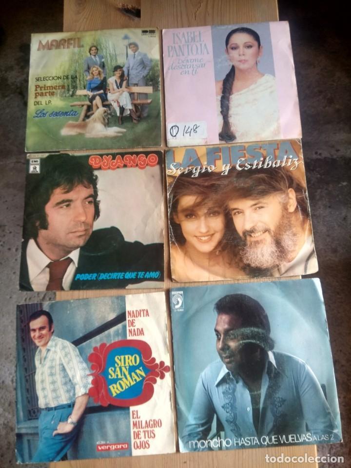 Discos de vinilo: LOTE 72 DISCOS ARTISTAS ESPAÑOLES ( LOS PAYOS, RAPHAEL, MOCEDADES, MANZANITA, AUTE, LOS TNT, ETC - Foto 3 - 237936385