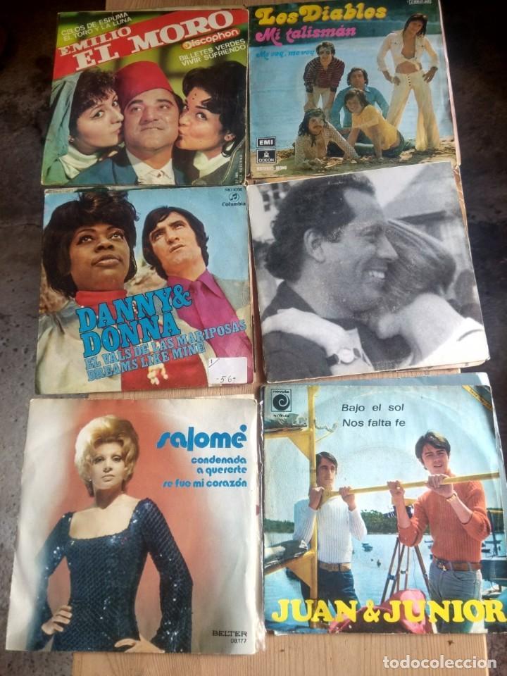 Discos de vinilo: LOTE 72 DISCOS ARTISTAS ESPAÑOLES ( LOS PAYOS, RAPHAEL, MOCEDADES, MANZANITA, AUTE, LOS TNT, ETC - Foto 4 - 237936385