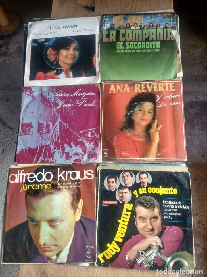 Discos de vinilo: LOTE 72 DISCOS ARTISTAS ESPAÑOLES ( LOS PAYOS, RAPHAEL, MOCEDADES, MANZANITA, AUTE, LOS TNT, ETC - Foto 6 - 237936385