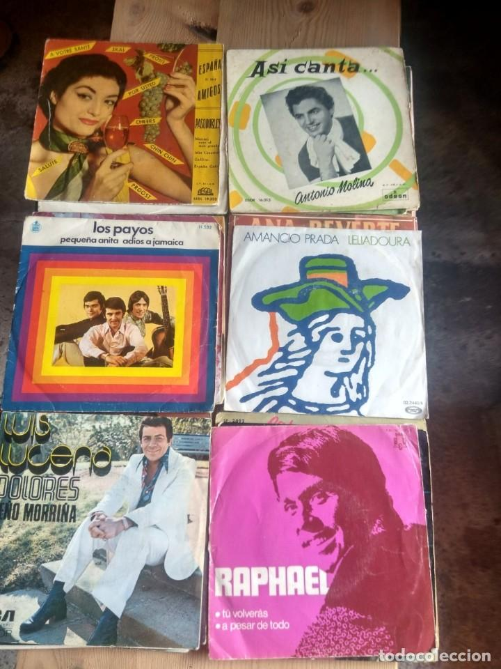 Discos de vinilo: LOTE 72 DISCOS ARTISTAS ESPAÑOLES ( LOS PAYOS, RAPHAEL, MOCEDADES, MANZANITA, AUTE, LOS TNT, ETC - Foto 7 - 237936385