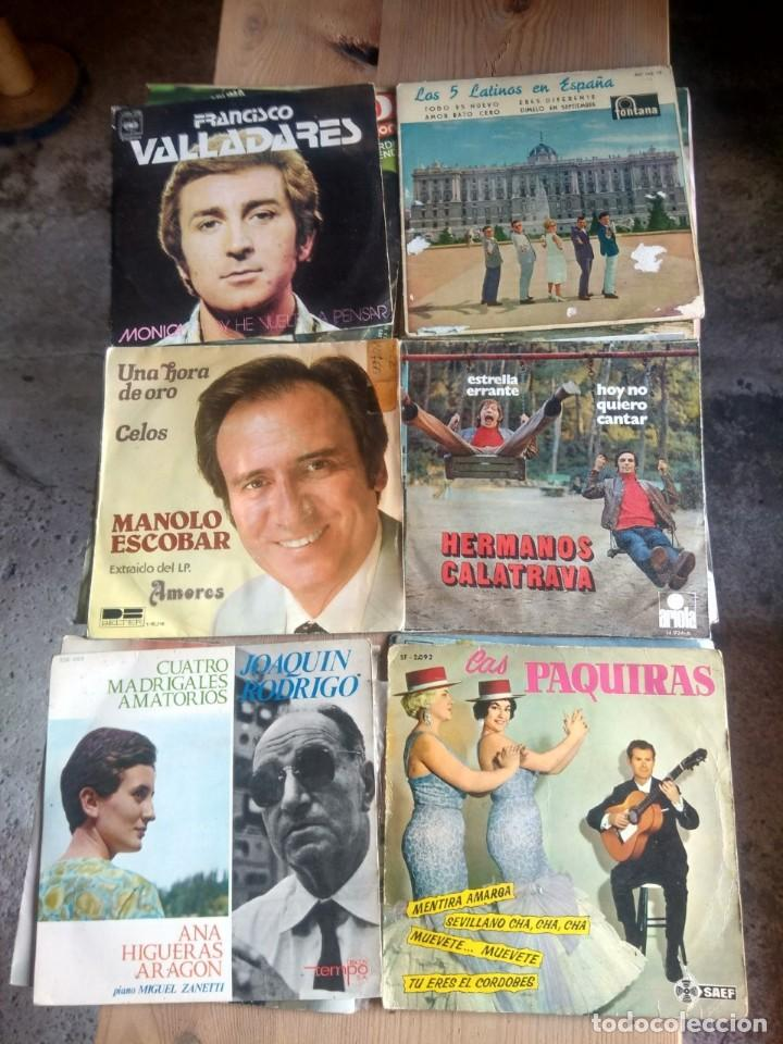 Discos de vinilo: LOTE 72 DISCOS ARTISTAS ESPAÑOLES ( LOS PAYOS, RAPHAEL, MOCEDADES, MANZANITA, AUTE, LOS TNT, ETC - Foto 8 - 237936385