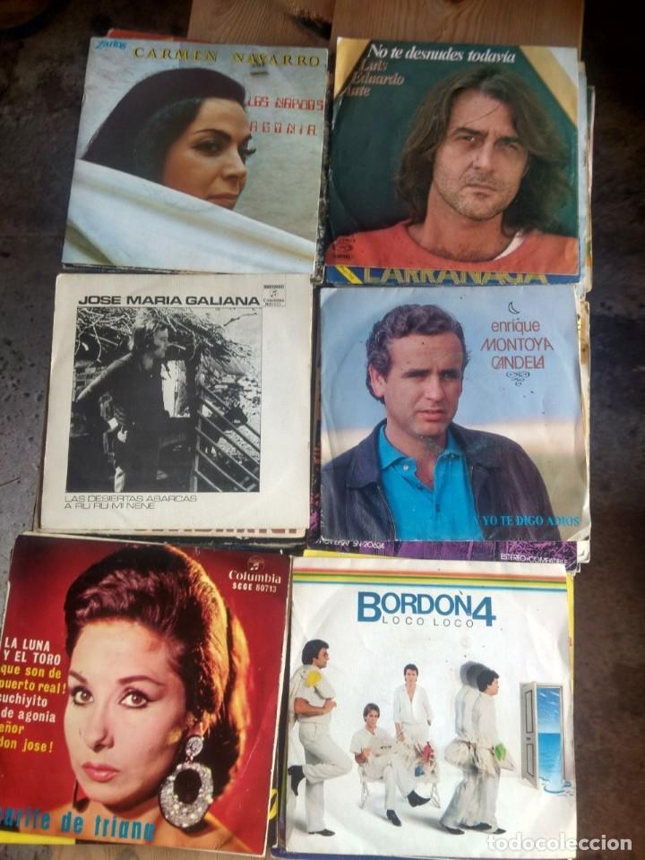 Discos de vinilo: LOTE 72 DISCOS ARTISTAS ESPAÑOLES ( LOS PAYOS, RAPHAEL, MOCEDADES, MANZANITA, AUTE, LOS TNT, ETC - Foto 9 - 237936385